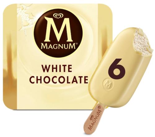 Magnum Magnum White 6 stk, 660 ml