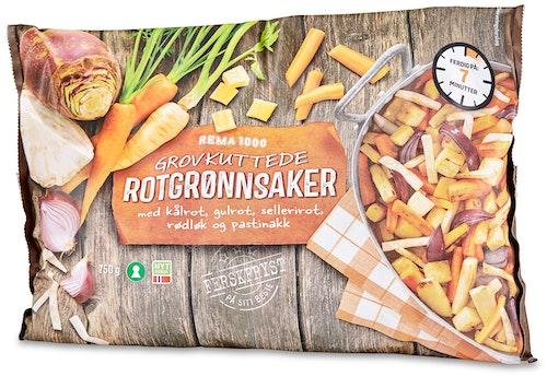 REMA 1000 Rotgrønnsaker Grovkuttet 750 g