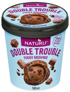Naturli' Double Trouble Brownie 0,5 l