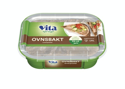Vita Hjertego' Ovnsbakt Postei 185 g