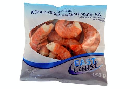 East Coast Argentinske Kongereker Rå, 450 g