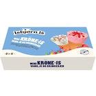 Mini Krone-Is Vanilje Og Bringebær