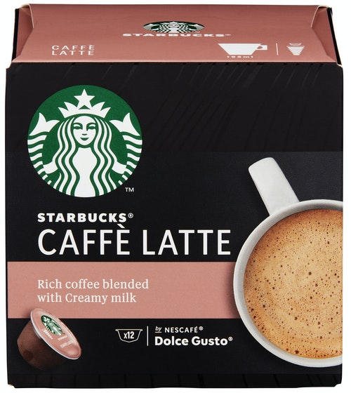 Dolce Gusto Starbucks Caffe Latte 12 stk