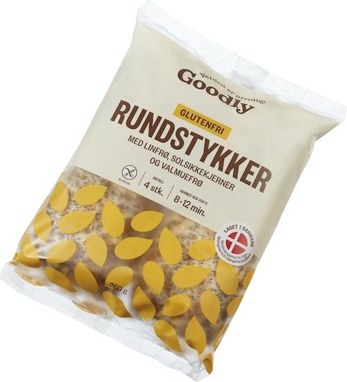 Goodly Rundstykker M/frø Glutenfri 4 x 65 g, 260 g