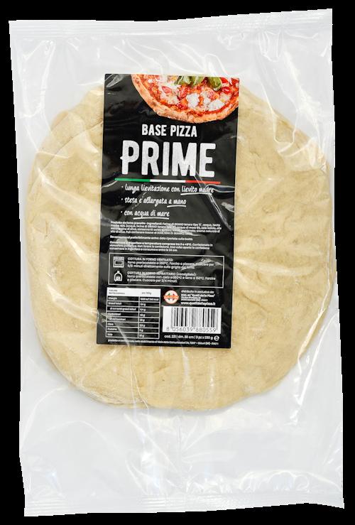 Pizzabunn Surdeig Rund Halvstekt 30 cm, 3 stk