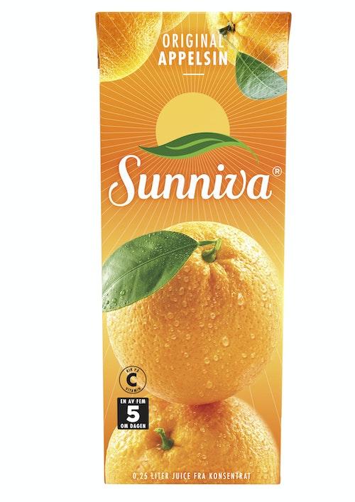 Sunniva Sunniva Original Appelsinjuice 250 ml