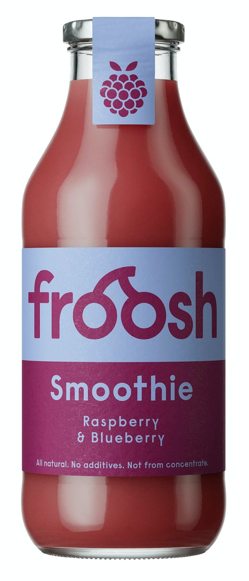 Froosh Smoothie Blåbær & Bringebær 750 ml