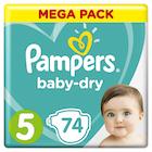 Pampers Bleie Baby Dry