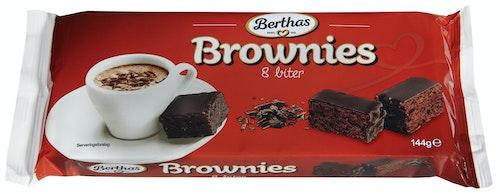 Brownie Bite Size 8 biter, 144 g