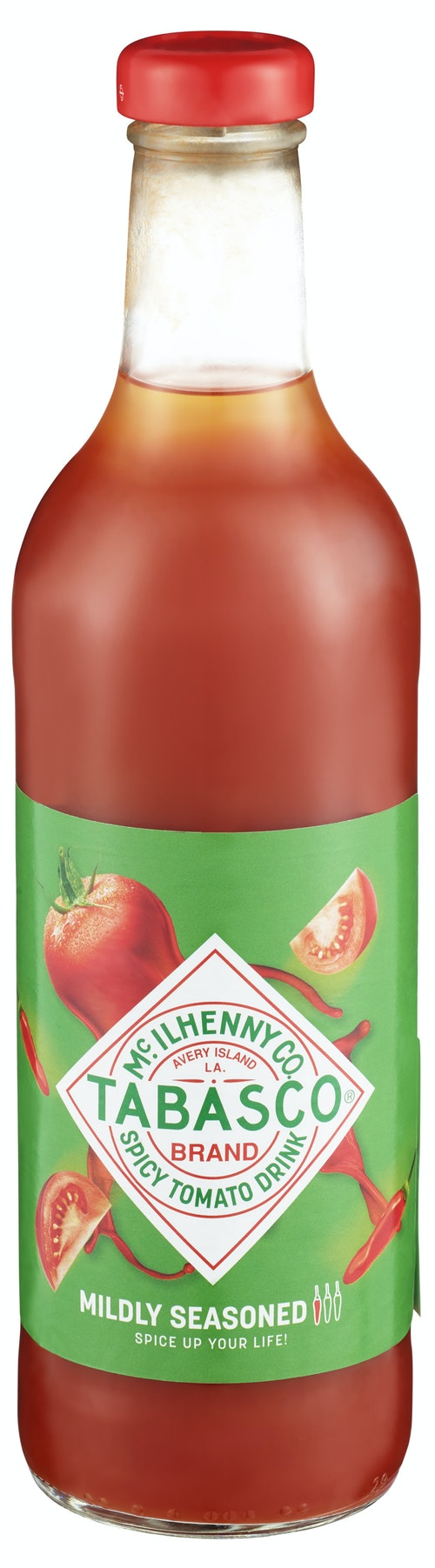 Tabasco Krydret Tomatjuice 0,75 l
