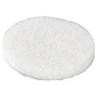 Filtknotter 20mm hvit selvklebende