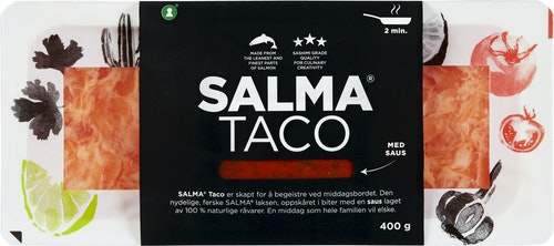 Salma SALMA Taco Med Fersk Tacosaus, 400 g