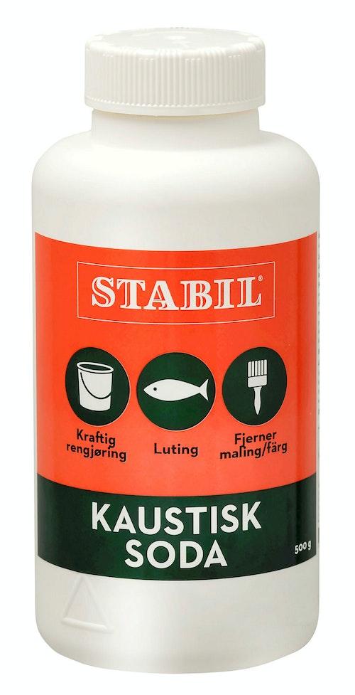 Stabil Stabil Kaustisk Soda Pulver 500 g