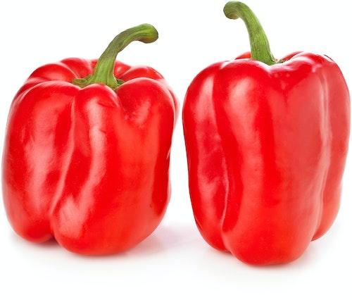 Paprika Rød Spania, 2 stk