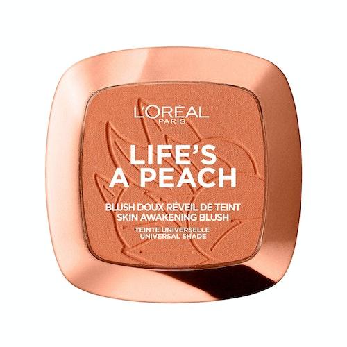 L'Oreal Life's a Peach Pudderblush 1 stk