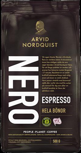 Arvid Nordquist Nero Espresso Hele Bønner, 500 g
