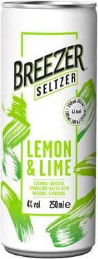 Bacardi Breezer Seltzer Lemon & Lime 0,25 l