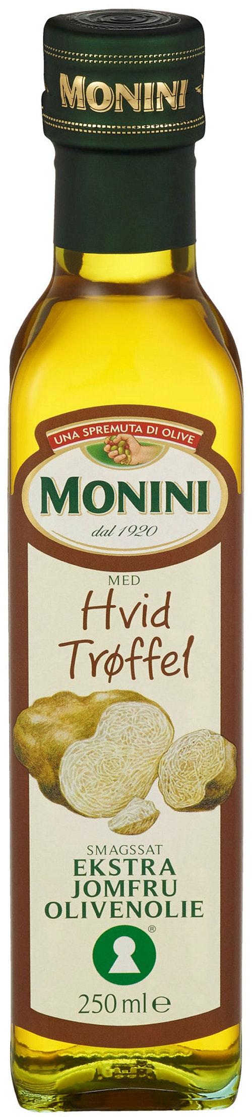Monini Olivenolje Hvit Trøffel, 250 ml