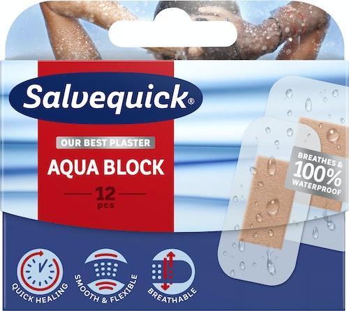 Salvequick Vannfast Plaster 12 stk