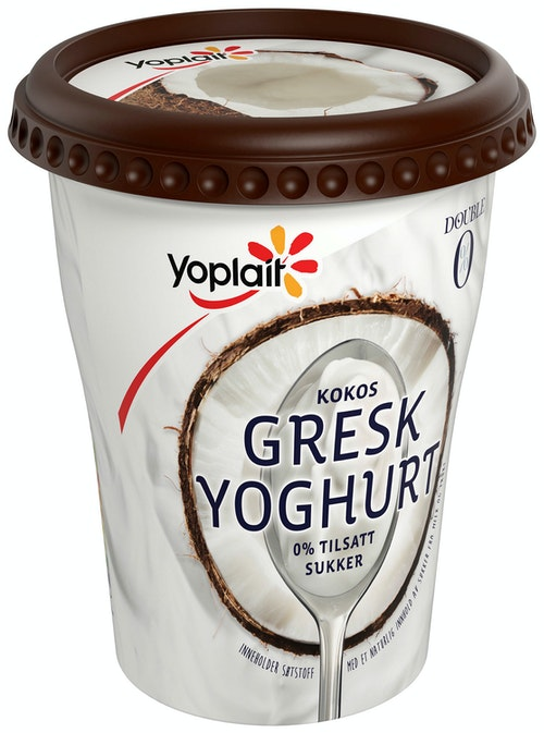 Fjordland Yoplait 00% Ekte Gresk Kokos 400 g