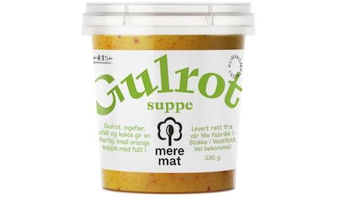 Suppe med Gulrøtter, Chili & Ingefær