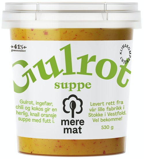 Mere Mat Suppe med Gulrøtter, Chili & Ingefær 530 g