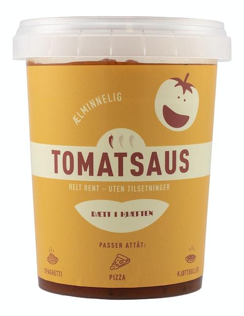 Tomatsaus #ælminnelig  500 g 1 stk
