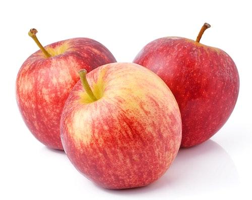 Røde Epler Gala 2-3 stk Økologisk, Italia, 500 g