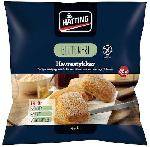 Hatting Glutenfrie Havrestykker 320 g