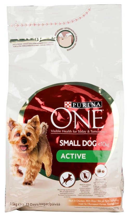 My Dog Is Active Purina One, 1,5 kg