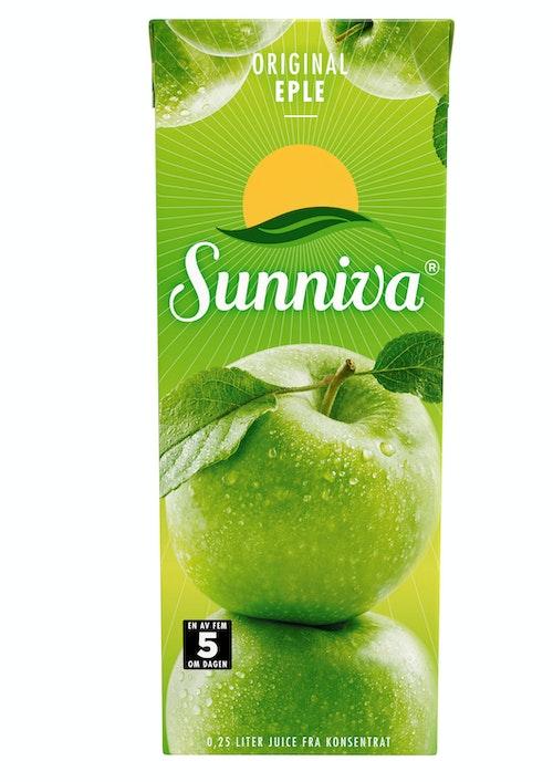 Sunniva Sunniva Original Eplejuice 250 ml