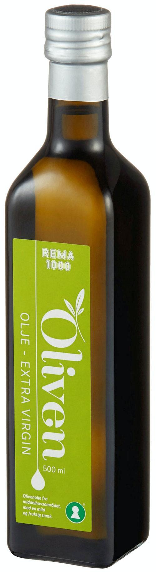 REMA 1000 Olivenolje Extra Virgin 0,5 l