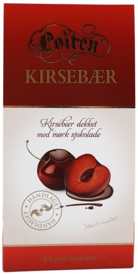 Løiten Fruktsjokolade Kirsebær 150 g