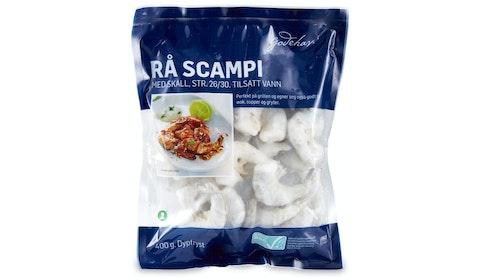Scampi Rå med Skall
