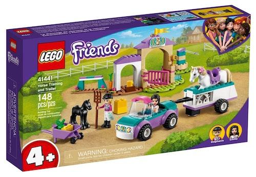 LEGO LEGO Friends Hestetrening med utstyr og henger 1 stk