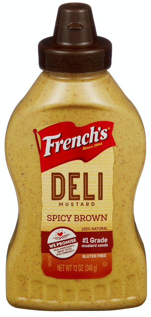 French's Spicy Brown Mustard 340 g