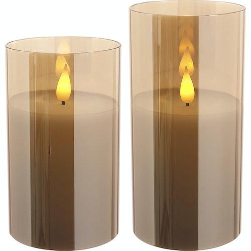 Northlight LED-lys Glass Champange 2 stk, 1 stk
