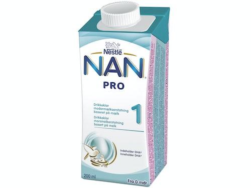 Nestlé NAN Pro 1 Fra Fødsel Drikkeklar, 200 ml
