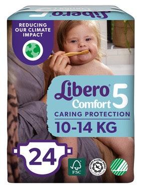 Libero Comfort Str 5 10-14 kg, 24 stk