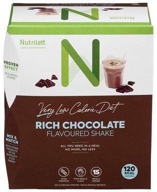Nutrilett Intensiv Sjokolade Shake 0,5 kg