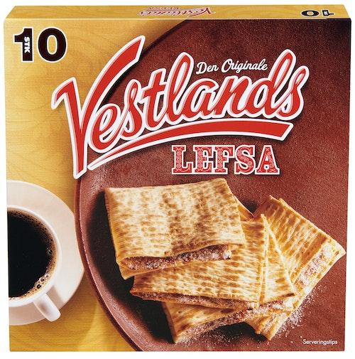 Vestlandslefsa Original 10 stk, 350 g