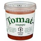 Suppe med Tomat, Squash & Basilikum