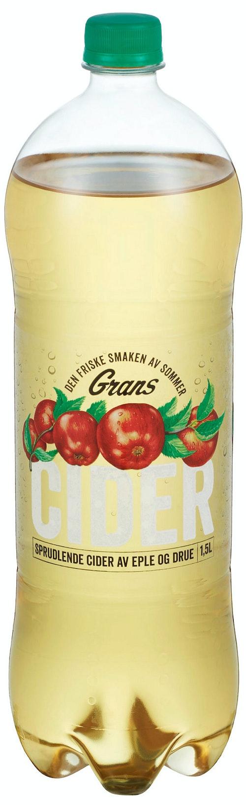 Grans Bryggeri Cider Eple & Drue 1,5 l