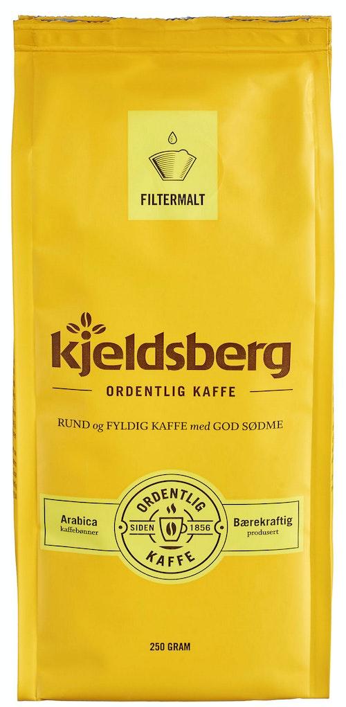 Kjeldsberg Kaffebrenneri Original Filtermalt Kaffe 250 g