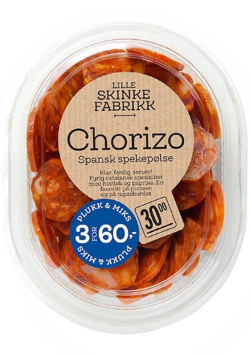 Lille Skinkefabrikk Chorizo 80 g