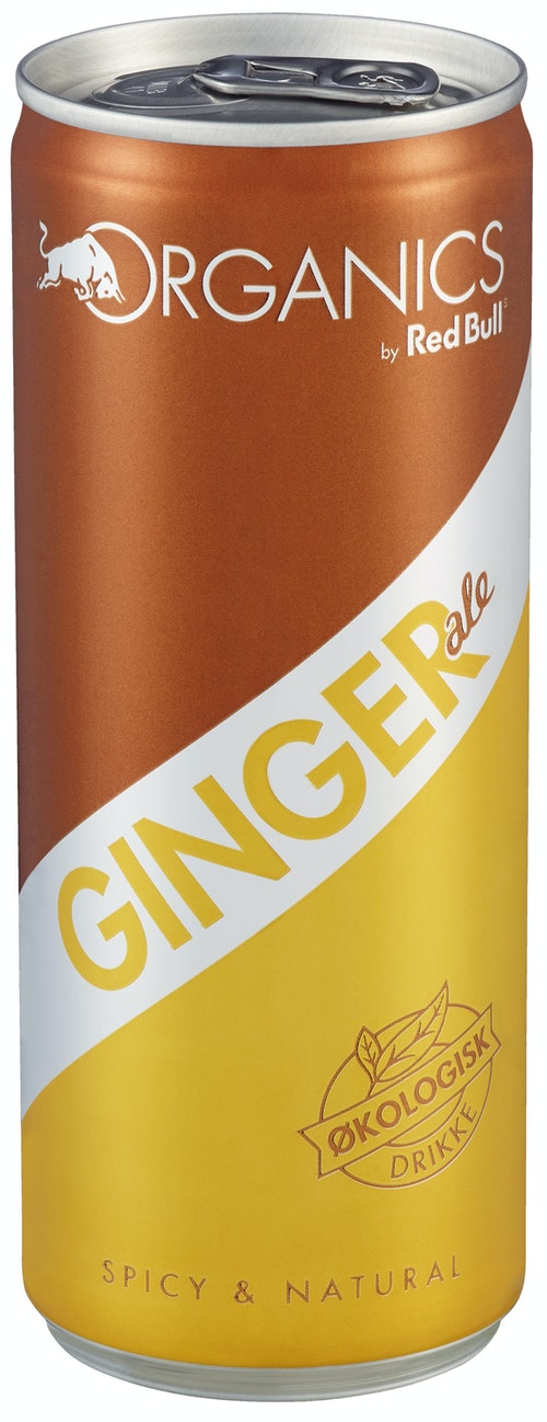 Red Bull Red Bull Ginger Ale Økologisk, 250 ml