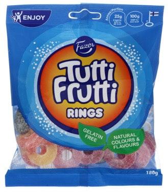 Fazer Tutti Frutti Rings 180 g
