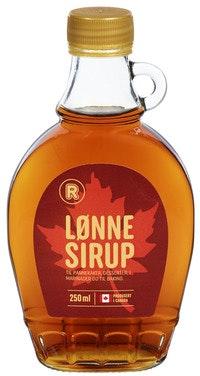 R Core Lønnesirup Lys 250 ml