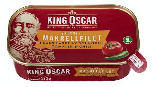 King Oscar Skinnfri Makrell Chili 110 g