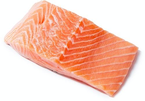 Fiskcentralen Laksefilet Med Skinn 2 x 125g, 250 g